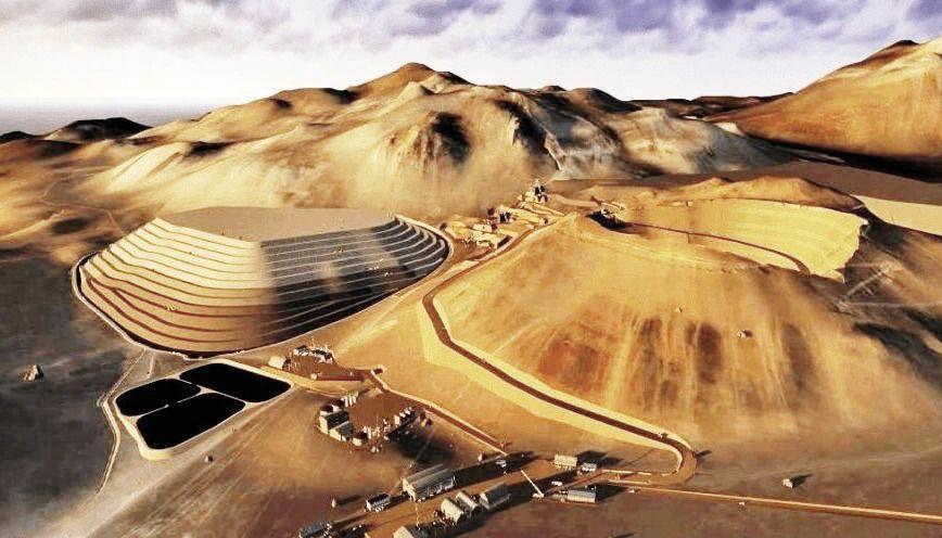 Auge. El yacimiento está ubicado en el departamento Los Andes. Demandó una inversión de 239 millones de dólares y se estima que la actividad se realizará por más de 15 años.