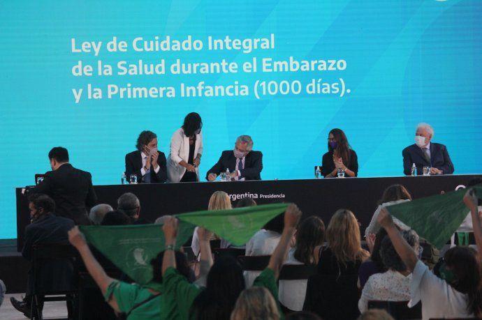 El presidente Alberto Fernández aseguró que hoy es un