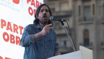 Nicolás Del Caño, en campaña