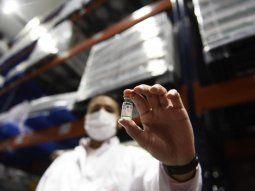 Se completa la distribución de 786.000 dosis de vacunas Sinopharm en todas las provincias.