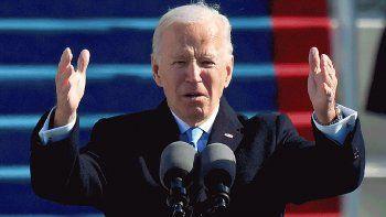 El presidente de los Estados Unidos Joe Biden .