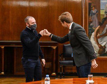 Martín Guzmán se reunió con el fundador de Ualá