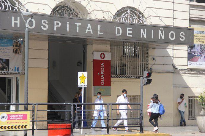 Ya son 10 los menores internados por coronavirus en el hospital de niños Ricardo Gutiérrez.