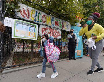 La ciudad de Nueva York también está experimentando un aumento de los contagios a medida que avanza el otoño.
