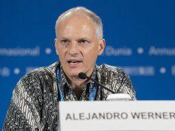 Alejandro Werner, director del Hemisferio Occidental del FMI.
