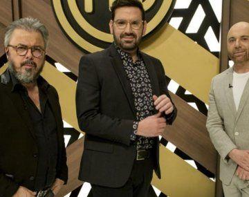 Donato De Santis, Damián Betular Y Germán Martitegui, el jurado de MasterChef Celebrity.