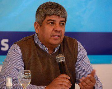 El secretario General adjunto de Camioneros, Pablo Moyano.