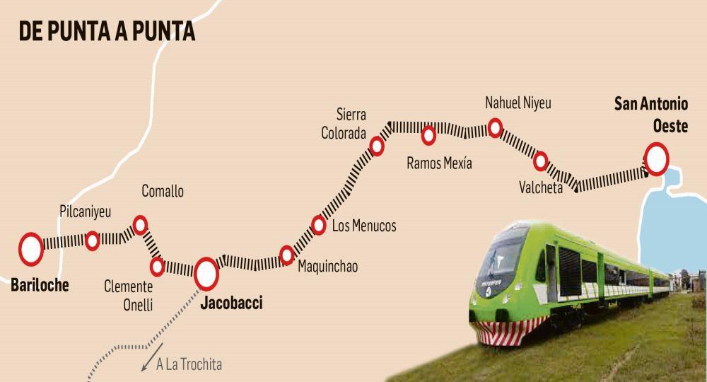 Del mar a la montaña: el tren que ilusiona a pueblos de la Patagonia