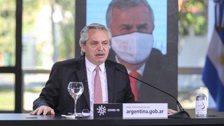 Alberto Fernández reiteró que no habrá nuevas ofertas para los acreedores.