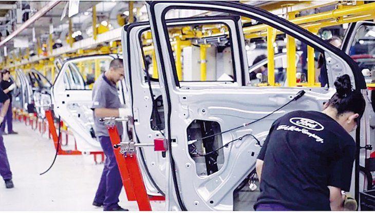 La compañía informó un incremento en la producción de su modelo de camioneta Ranger en la planta bonaerense.