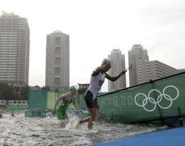Romina Biagioli disfrutó su participación en el Triatlón de los Juegos Olímpicos Tokio 2020.