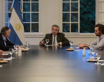 El Gobierno se reunió con los dirigentes de la UIA durante el aislamiento obligatorio (Imagen de archivo).