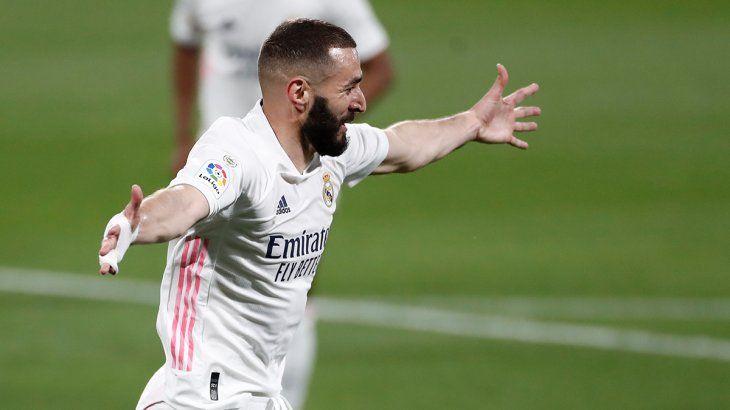 Benzema es la gran carta goleadora del Real Madrid.