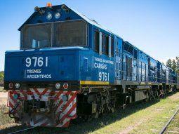 Los trenes de carga aumentaron lo transportado
