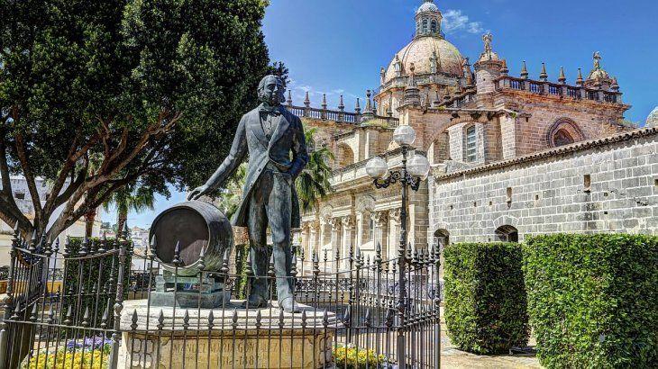 En el área de Jerez hay más de 40 bodegas, en un ambiente de película.