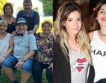 Maradona vs Maradona: Las hermanas de Diego hablaron en televisión y apuntaron contra Dalma y Gianina