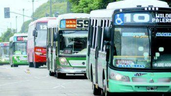 Empresas de transporte anticiparon una marcada reducción de servicios.