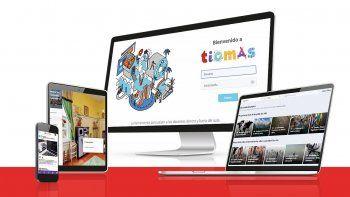 Ticmas es unasolución integral para la educación que acompaña a estudiantes, docentes einstitucioneseducativas en la transformación digital.
