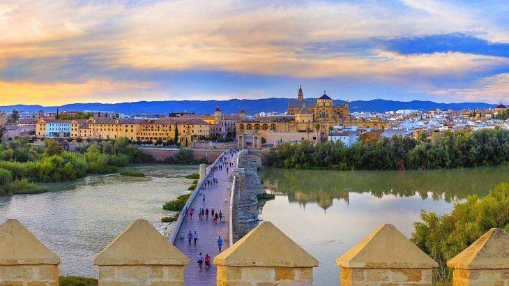 El casco histórico de Córdoba.