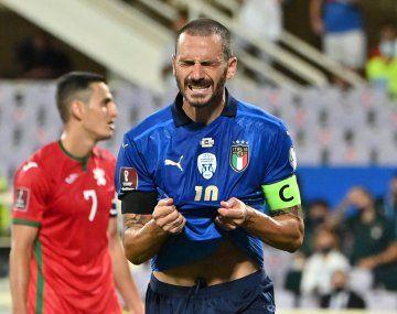 Italia empató con Bulgaria en las Eliminatorias europeas.