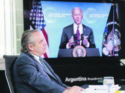Alberto Fernández busca reunirse con Joe Biden en Glasgow y hablar del FMI