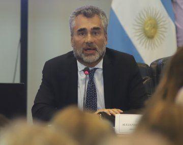 El titular de la ANSES, Alejandro Vanoli.