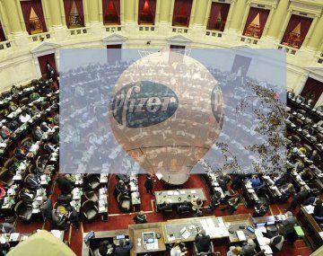 Pfizer y otros laboratorios al Congreso a dar explicaciones bajo apercibimiento
