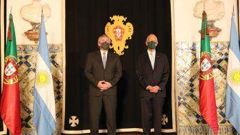 alberto se reunio con su par de portugal: fmi, acuerdo mercosur-ue y pandemia