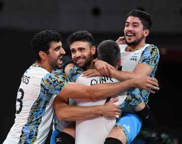 Argentina vence a Brasil y se queda con el bronce en el voley masculino