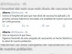 El Director del Hospital Posadas habló por Twitter