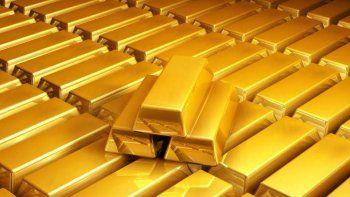 El oro acumuló un alza de 3,5% en la semana, su mejor performance para este lapso desde comienzos de noviembre de 2020.
