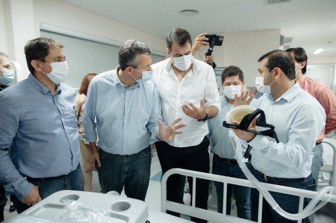Herrera Ahuad: Inauguramos uno de los hospitales más avanzados en la Argentina en equipamiento y tecnología