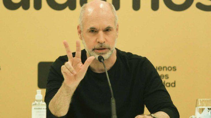 Rodríguez Larreta ordenó priorizar pacientes Covid-19