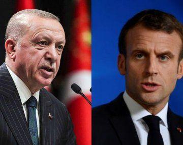 Erdogan recomendóun examen de salud mental a Macron.