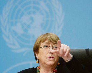 CALDO ESPESO. Michelle Bachelet llevó ayer la voz cantante en la ONU contra las violaciones a los derechos humanos en Nicaragua.