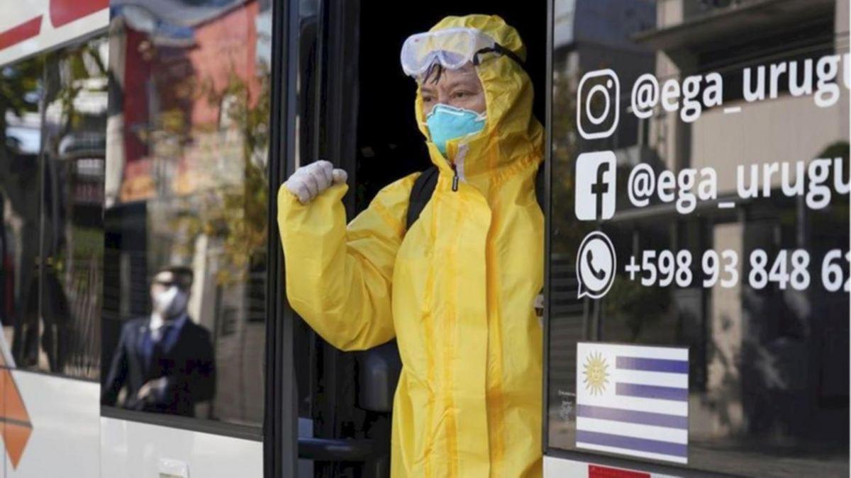 El coronavirus fue la principal causa de muerte en Uruguay en lo que va del año