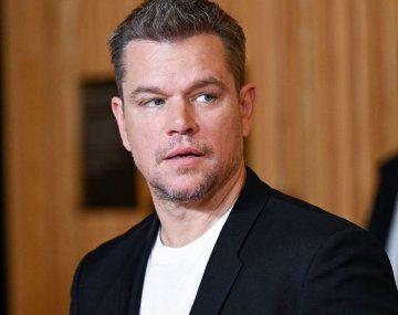 Acusaron a Matt Damon de ser homofóbico: No insulto a nadie de ninguna forma