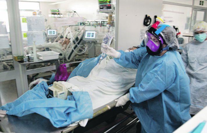 Covid-19: la Ciudad registró un nuevo pico de ocupación de camas de terapia intensiva