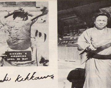 Un sobreviviente de Hiroshima