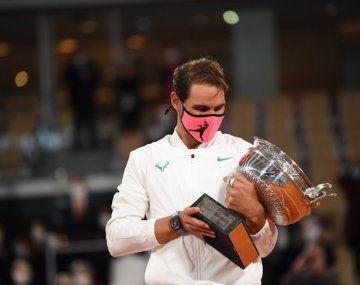El español Rafael Nadal se alzó con el triunfo en Rolland Garros.