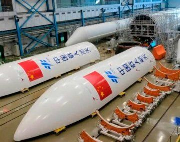 El cohete chino.