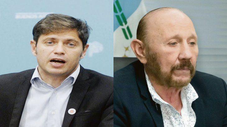 Axel Kicillof y Gildo Insfrán.