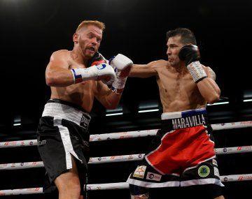 Sergio Martínez volvió al boxeo con una victoria.