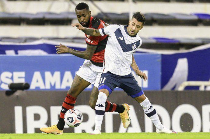 Vélez perdió con Flamengo en su debut por Copa Libertadores.
