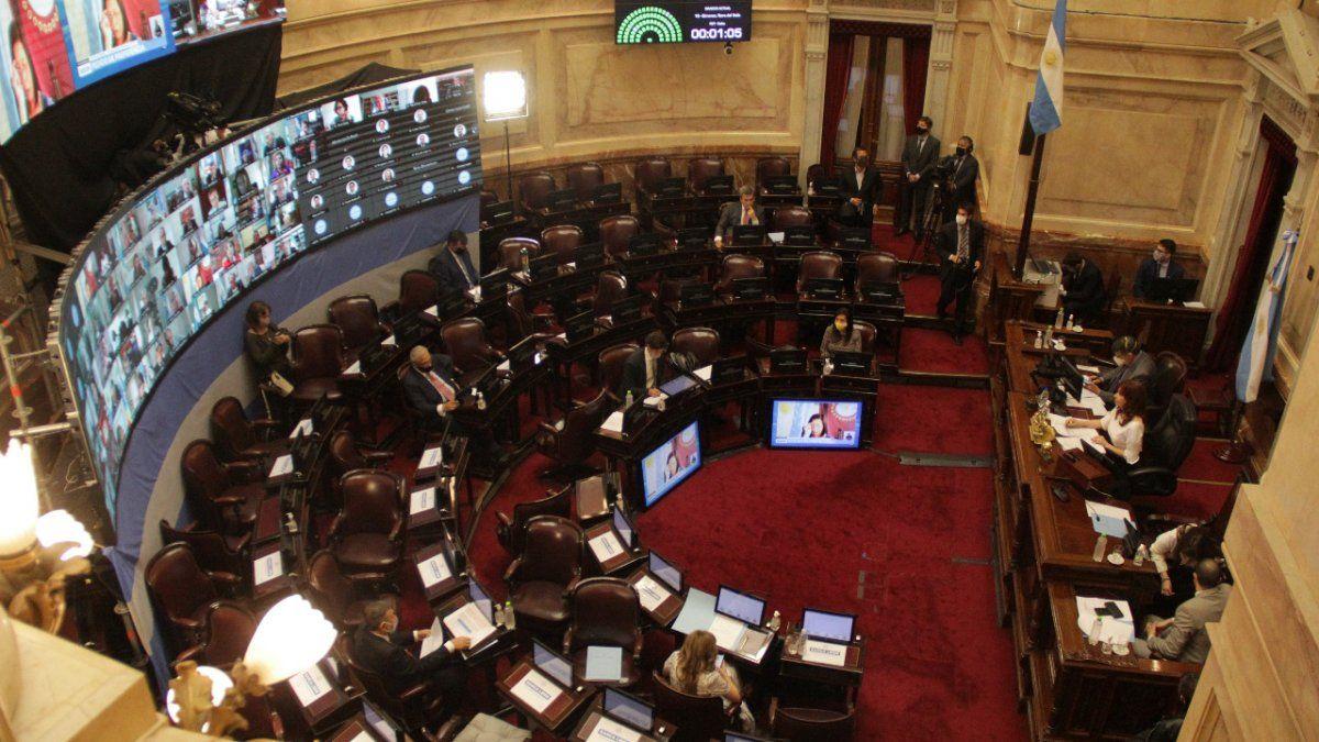 Senado comienza a debatir el proyecto de aporte solidario a las grandes fortunas