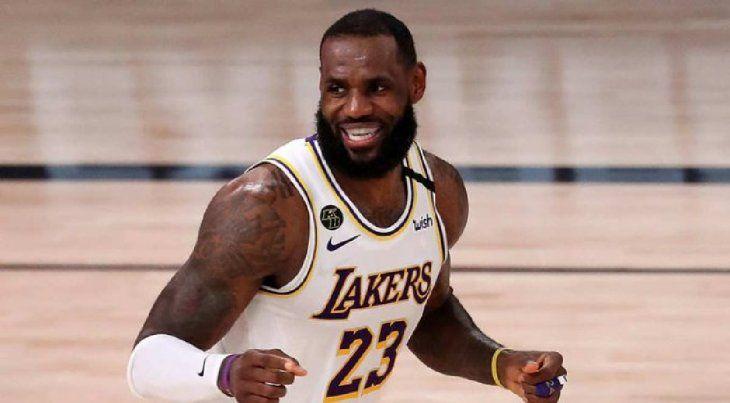 LeBron James fue elegido como