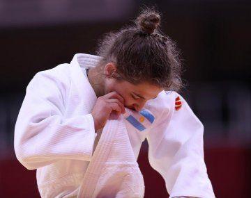 Pareto disputó su última competencia oficial y fue aclamada por la delegación argentina de Tokio 2020.