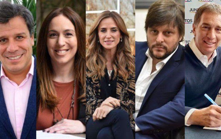 Manes, Vidal, Tolosa Paz, Santoro y Santilli.