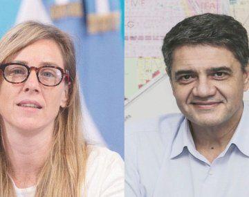 Agustina Vila y Jorge Macri.