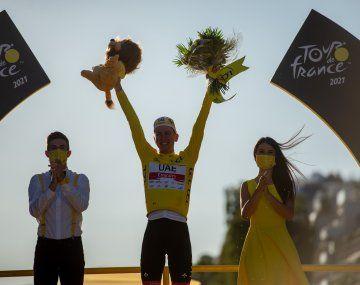 Tadej Pogacar ganó el Tour de Francia por segundo año consecutivo.